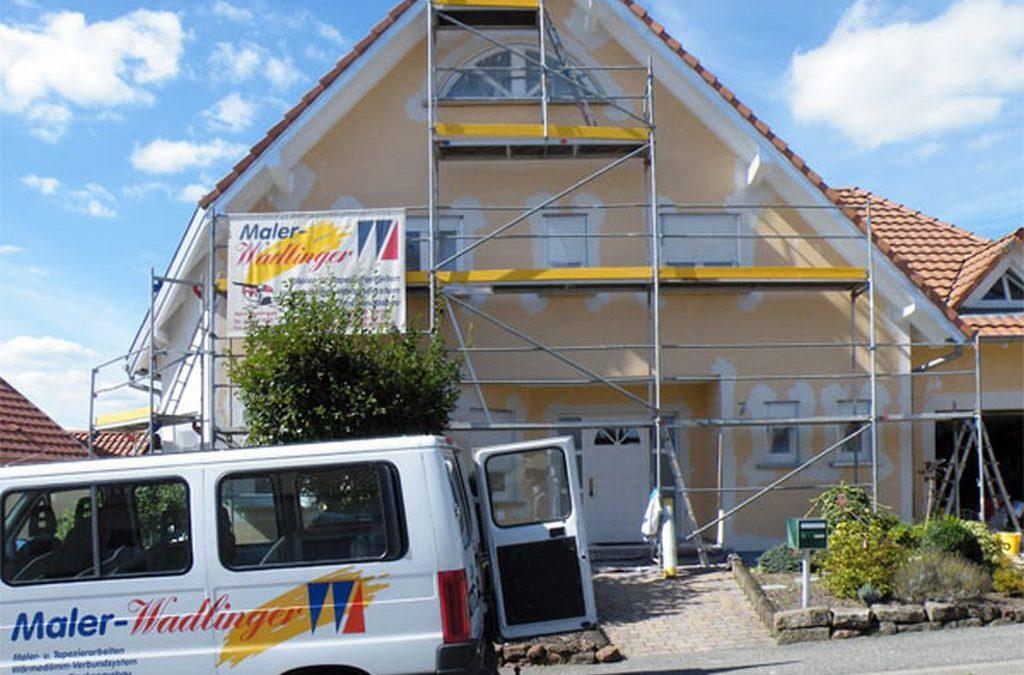 Fassadenarbeiten in Aschbach/Frankreich