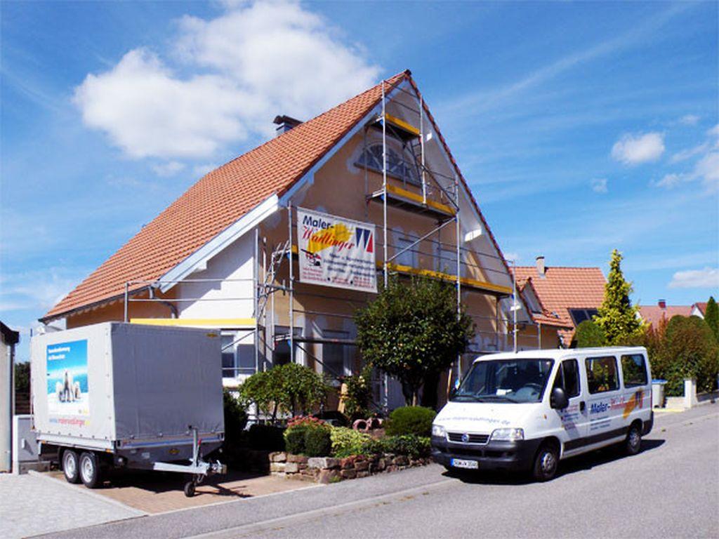 Fassadenarbeiten in AschbachFrankreich (2)