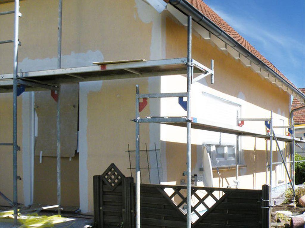 Fassadenarbeiten in AschbachFrankreich (3)