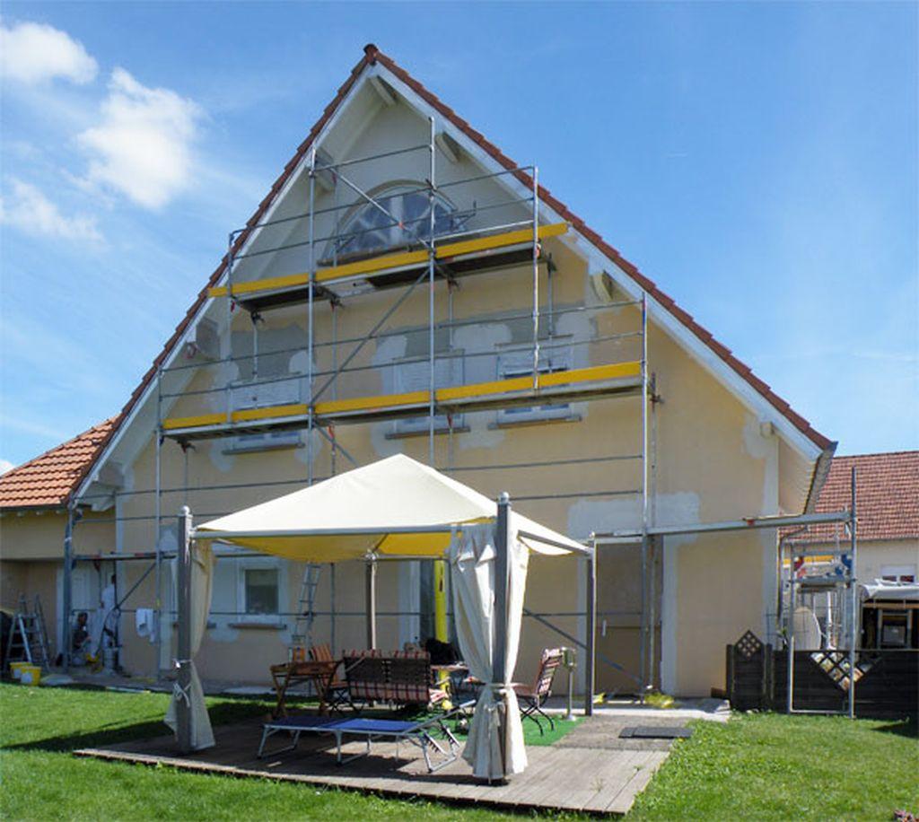 Fassadenarbeiten in AschbachFrankreich (4)