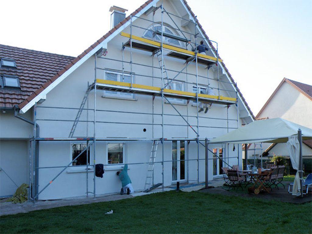 Fassadenarbeiten in AschbachFrankreich (5)