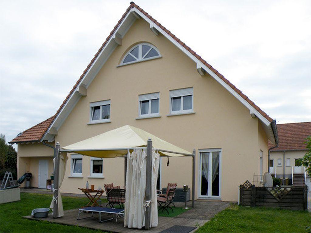 Fassadenarbeiten in AschbachFrankreich (6)