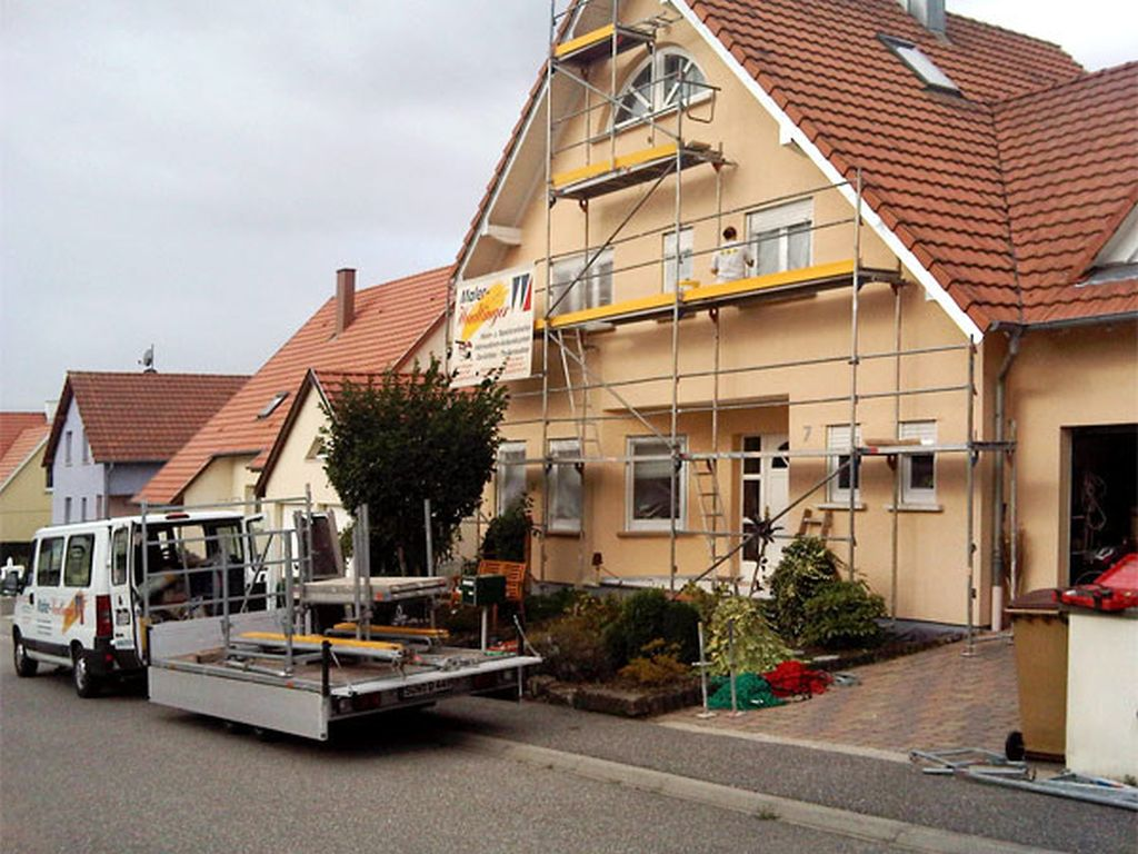 Fassadenarbeiten in AschbachFrankreich (8)