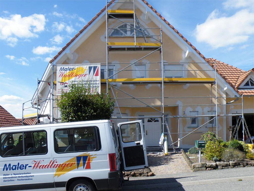 Fassadenarbeiten in AschbachFrankreich