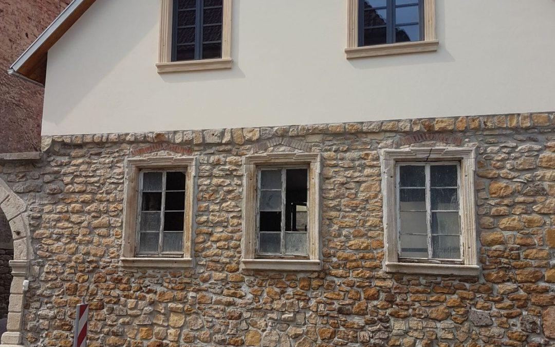 Fasadenarbeiten Sandstein