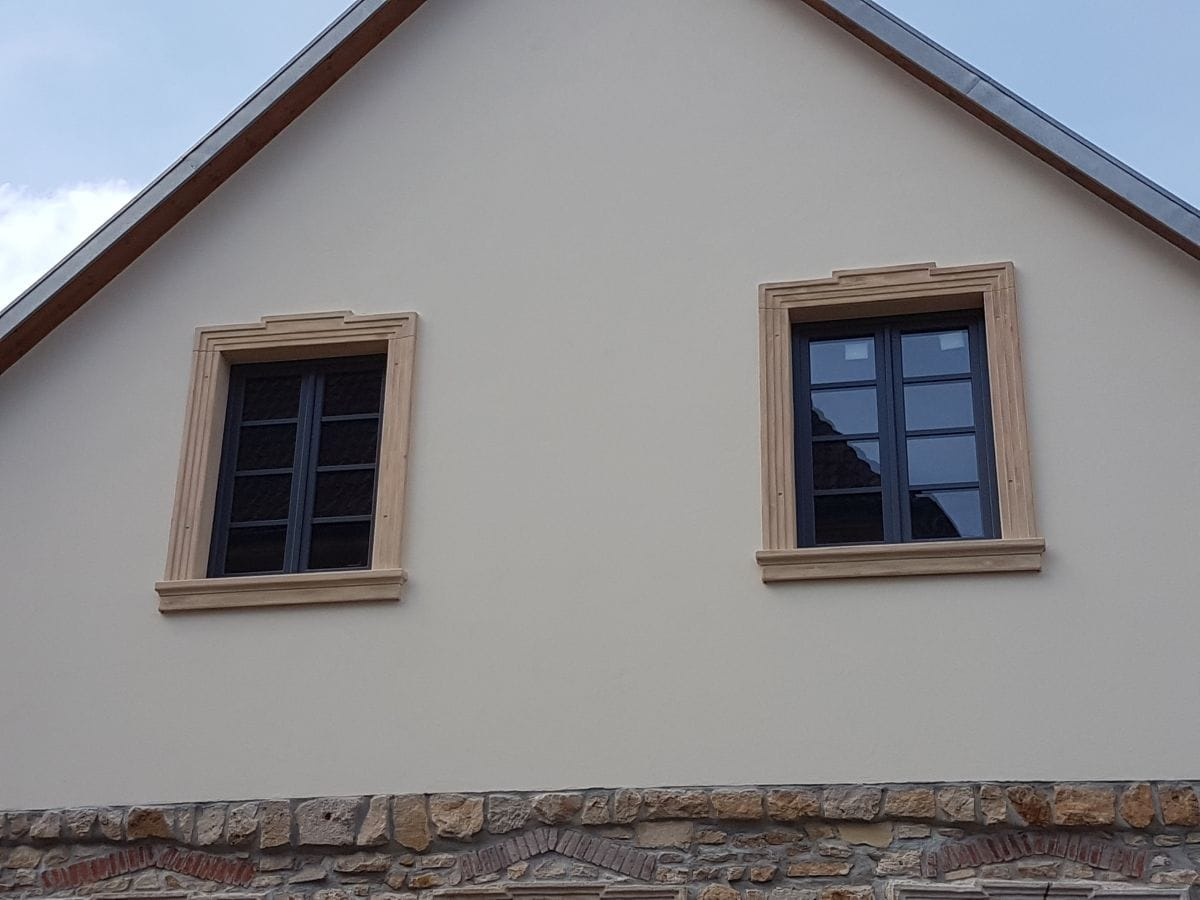 Nachbildung Fensterrahmen